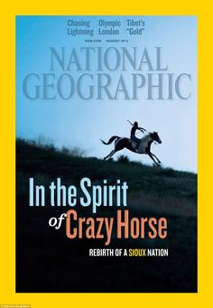 The August edition of National Geographic explores the rebirth of the Sioux Nation and the challenges it faces    Read more: http://www.dailymail.co.uk/news/article-2182898/In-shadow-Wounded-Knee-Inside-Pine-Ridge-reservation-South-Dakota.html#ixzz22Ug9Q75A