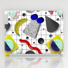 Memphis Milano X Harlem Shake Style iPad Case by oculto - $60.00