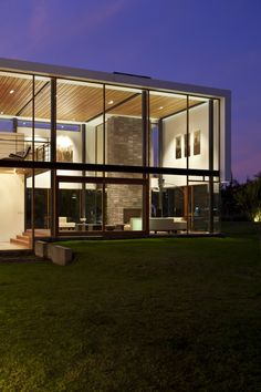 Casa 2V / Diez + Muller Arquitectos / Equador window, architectur, muller arquitecto, glass walls, modern houses, vacation places, glass houses, design, open plan