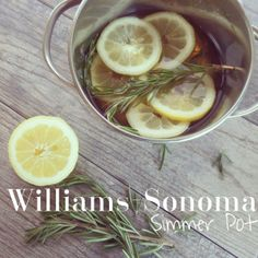 Williams-Sonoma Simmer Pot Recipe | Crafty Mally