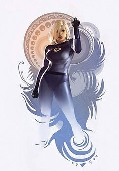 Invisible Woman Art