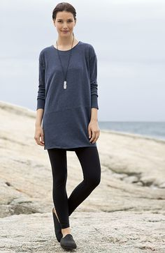 Pure Jill supersoft seamed top