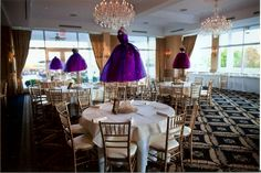 These beautiful dress centerpieces are for sale. Read about them on MitzvahMarket.com. There are 15 in total and are beautiful for any type of Bat Mitzvah celebration - especially fashion themed!