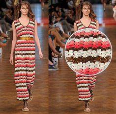 #fashion #crochet Rio Fashion Business #brazilian