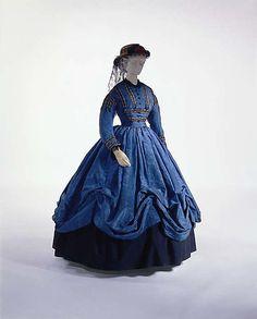 Dress      ca. 1864