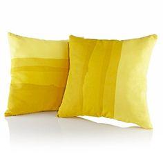 Nate Berkus™ Set of 2 Watercolor Pillows at HSN.com.