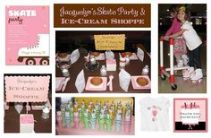 party favors, princess, roller skate, birthday parties, rollersk parti