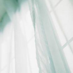 Seafoam curtain. by *myu, via Flickr