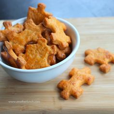 Homemade cheese crackers -  choose the kind of cheese and seasonings to make your own favorite flavor.