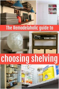 Great shelving and t