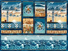 Sea Quilts Scenic Panel
