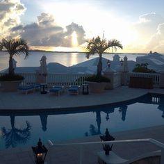 Sunrise over Bermuda, July 18, 2012. Tucker's Point Resort & Spa.