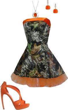 Duck Dynasty Camo Prom Dress