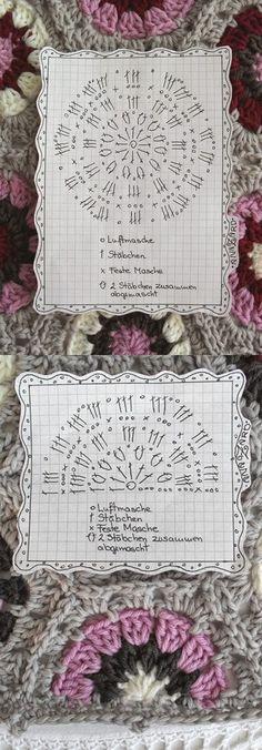Crochet Hexagon - Chart