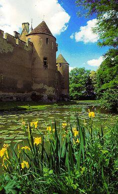 Chateau D'Ainay Le Vieil, Cher, France