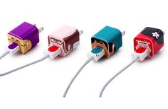 This set of iPhone cord stickers are so cute--and help differentiate yours from everyone else's.
