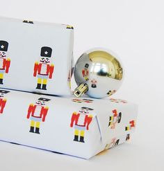 Free printable Nutcracker gift wrap from Handmade Charlotte. Our kids would love this.