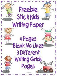 stick kids, write paper, writing papers, kid creativ, creative writing, creativ write, educ, school idea, 3rd grade