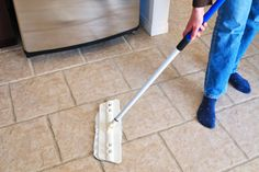 Cleaning Tile Floors   Stretcher.com - Cleaning tile floors without