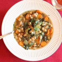 Kale and White Bean Soup by lisasdinnertimedish