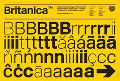 Britanica™ — A2 Type / Margaret Calvert