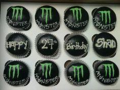 beats, eggs, energi drink, monster energy drink cupcakes, butter, monster energi, cupcak shop, baking, energy drinks
