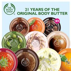 VINTAGE BEAUTY: 21 YEARS OF THE BODY SHOP BODY BUTTER