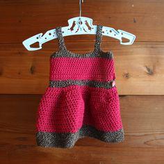 crochet party dress. free pattern.