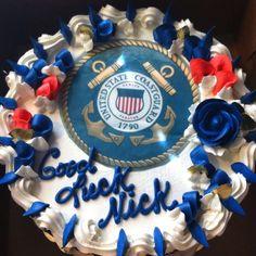 Coast guard cake!