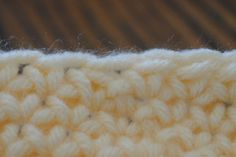 Finishing tips for crocheting in the round.