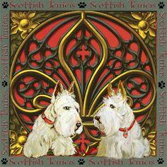 Celtic Wheaten Scottish Terriers