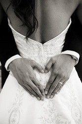 <3 wedding picture