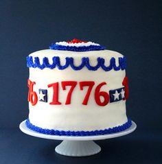 SugaryWinzy Patriotic Cake and Tutorial