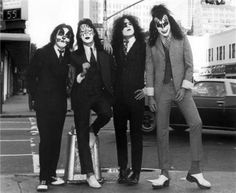 KISS in Suits