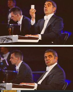 Mr. Bean at the 2012 Olympics Opening Ceremony in London