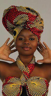 African fashion, headwraps