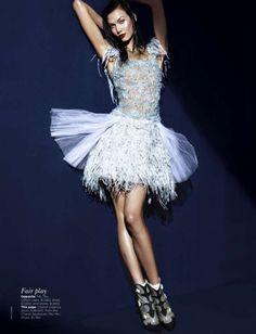 Model: Karlie Kloss   Photographer: Kai Z Feng - for Vogue Australia March 2012