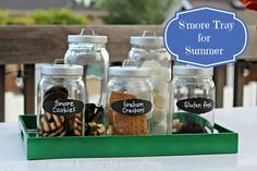 S'More Tray for Summer - Organize and Decorate Everything