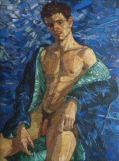 sovkov sergey, male bodi, eye candi, sexi men, art male