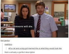 #5 is just the best When they realised what was actually happening in Parks and Rec. | 36 Times Tumblr Proved It Was The Funniest Place On The Internet