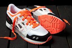 ASICS Gel Lyte III Orange Blaze Pack