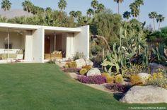 Marmol Radziner landscaping - kaufmann house
