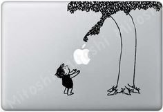 The Giving Tree... I'm getting a mac book pro and I want this cover!