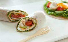 Turkey and Cucumber Wrap with Ranch Dressing // Anything with Ranch dressing is happiness! #summer #picnic #recipe