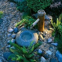 Japanese water features on pinterest water features for Japanese water feature