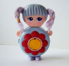 Sweet Secrets Doll  Cute folding doll by by kitschandcurious, £10.00