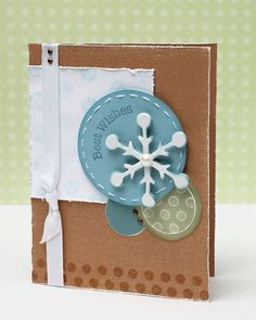 Winter card ideas from #CTMH.