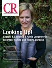 COVER GIRL: Alumna Annie Longsworth (EC4) in CR Magazine #sustainability