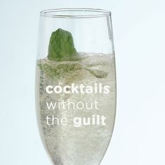 Cocktails Without the Guilt - Fabulous tips on low calorie drinks!