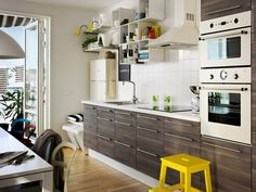 Our Walnut Effect Light Grey Sofielund Kitchen Doors And Rationell Interior Fittings Are The Perfect photo - 5